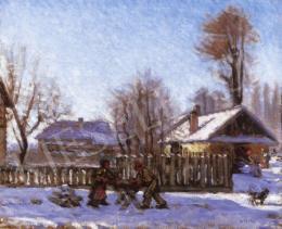 Mikola András - Szikrázó téli nap Nagybányán