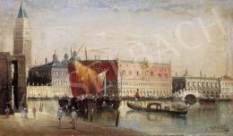 Kaufmann, Karl - Velence látképe a Dózse palotával