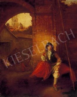 Ismeretlen festő, 19. század vége - Őrségben
