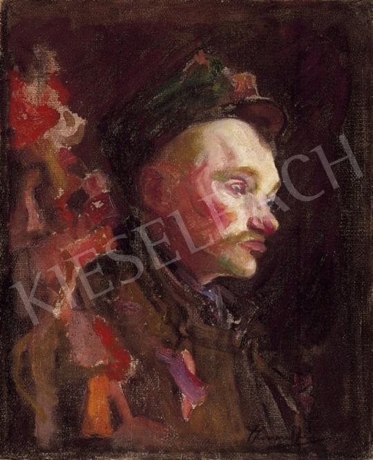 Thorma János - Férfi portré | 2. Aukció aukció / 297 tétel