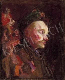 Thorma János - Férfi portré