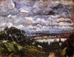 Dudits, Andor - Riverside Landscape
