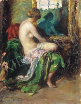 Mihalovits, Miklós - Dressing Woman