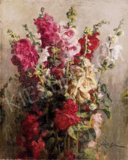 Kövér, Gyula - Still Life of Flowers