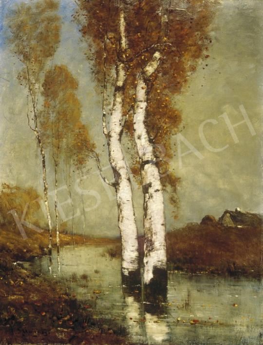 K. Spányi Béla - Mocsaras táj | 1. Aukció aukció / 68 tétel