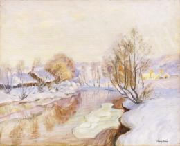 Abonyi Ernő - Téli táj