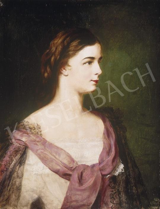 Ismeretlen festő - Erzsébet királyné | 1. Aukció aukció / 103 tétel