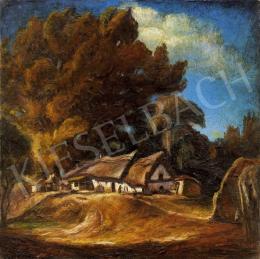 Gallé Tibor - Ház fákkal