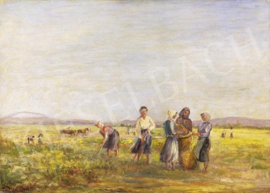 Kernstok Károly - Mezőn | 1. Aukció aukció / 138 tétel