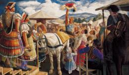 Gábor Jenő - Vásári akrobaták