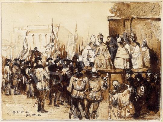 Rudnay Gyula - IV. Károly megkoronázása | 1. Aukció aukció / 198 tétel