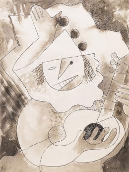 Gábor Jenő - Pierrot gitárral