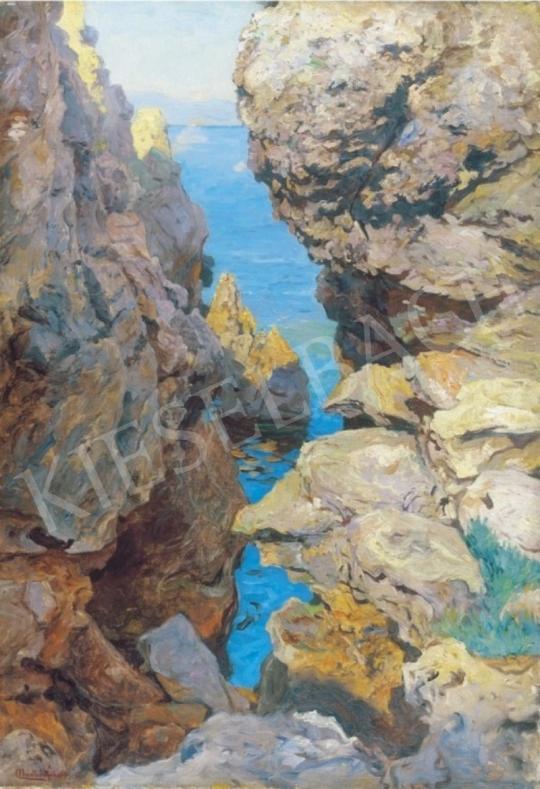 Nádler Róbert - Sziklás öböl | 1. Aukció aukció / 209 tétel
