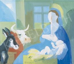 Medveczky Jenő - Mária a kis Jézussal