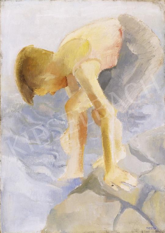 Rozsda Endre - Vízben lévő fiú | 1. Aukció aukció / 231 tétel