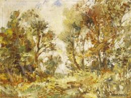 Herman, Lipót - End of the garden