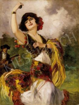 Geiger, Richárd - Spanish Dancer Woman