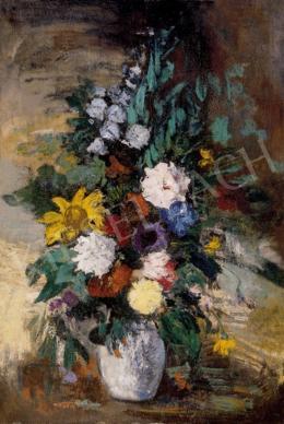 Ismeretlen festő - Virágok vázában