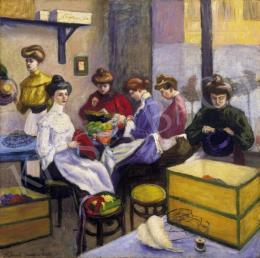 Kukovetz Nana - Párizsi kalapszalon