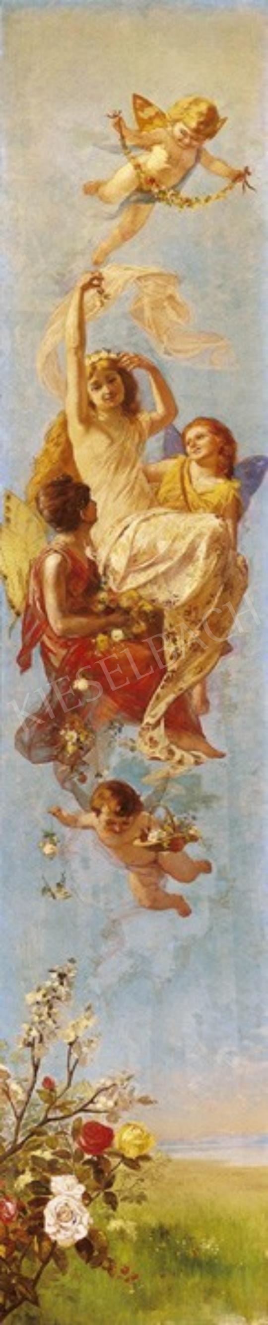 Ismeretlen festő - Tavasz | 1. Aukció aukció / 264 tétel