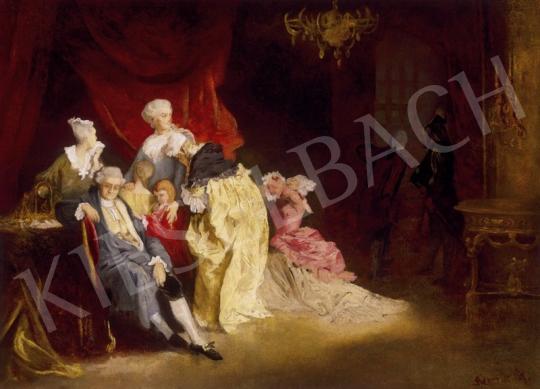 Benczúr, Gyula - Capturing Louis IV. | 1st Auction auction / 268 Item