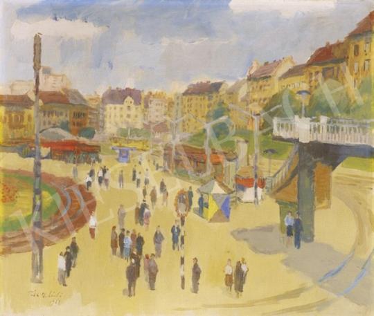 Tóth B. László - Moszkva tér, 1968 | 1. Aukció aukció / 272 tétel
