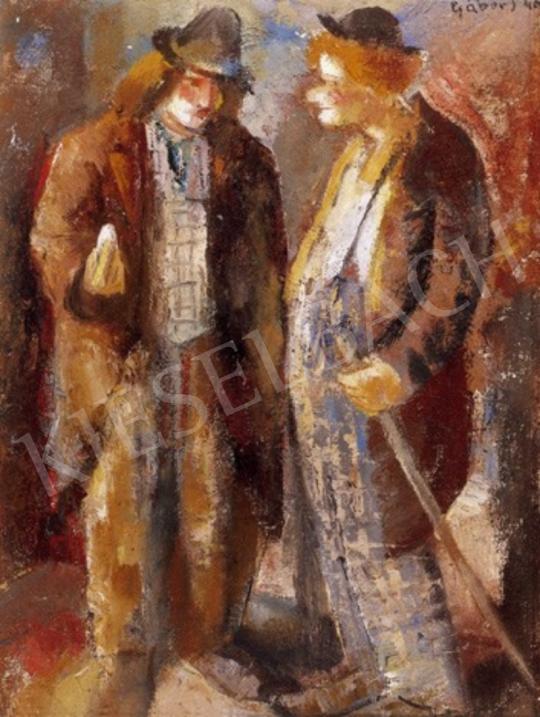 Gábor Jenő - Bohócok | 1. Aukció aukció / 299 tétel