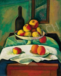 Czigány Dezső - Csendélet almákkal, narancsokkal