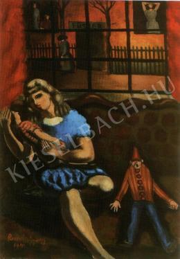 Román György - A kékruhás kislány