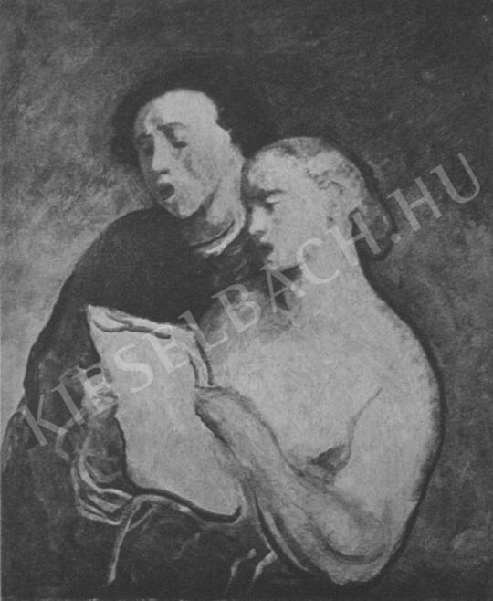 Csók István - Magyar szoba festménye