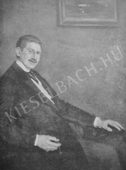 Fényes Adolf - Báró Kohner Adolf képmása