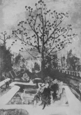 Bernáth Aurél - Parkrészlet (1930)