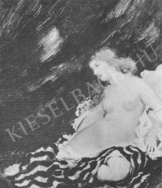 Csók István - Thamar festménye