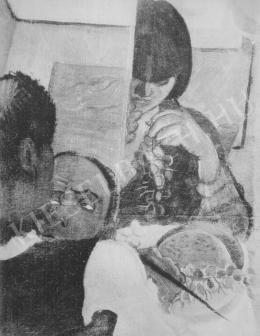 Derkovits Gyula - Szőlőevők (1930)