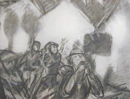 Egry, József - Fire (1925)