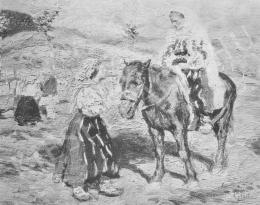 Glatz, Oszkár - Peasant Women (1910)