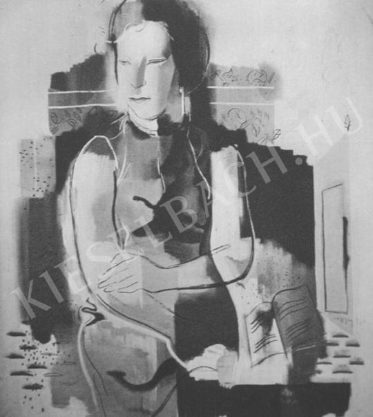 Hincz Gyula - Arckép festménye