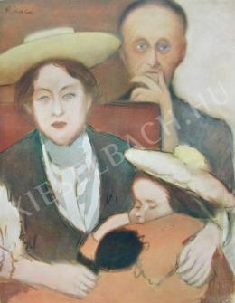 Rippl-Rónai József - Rippli néni a gyerekekkel (1901)