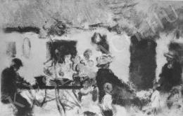 Rippl-Rónai József - A kis család (1930)