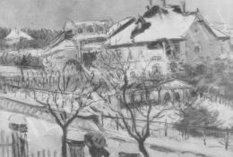 Rippl-Rónai József - Kelenhegyi táj