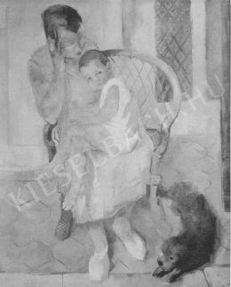 Szőnyi, István - On the Verandah