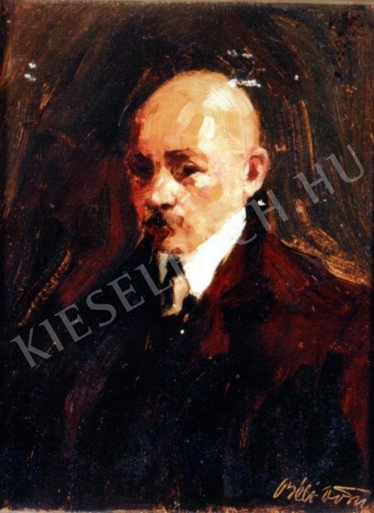 Béli Vörös Ernő - Önarckép festménye