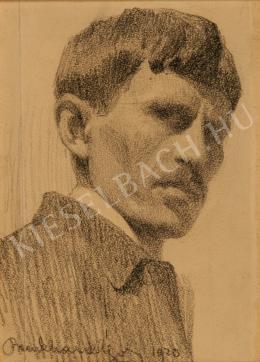 Benkhard, Ágost - Self-Portrait