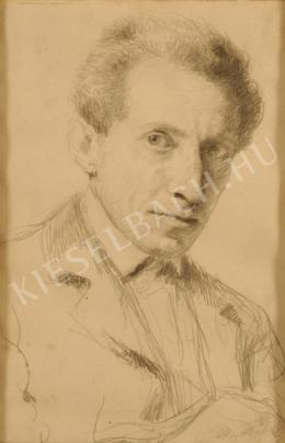 Glatz, Oszkár - Self-Portrait