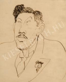 Herman, Lipót - Self-Portrait