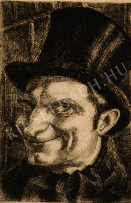 Kmetty, János - Self-Portrait