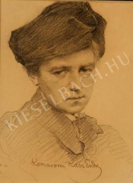 Komáromi-Kacz, Endre (Komáromi Katz Endre) - The Artist's Wife