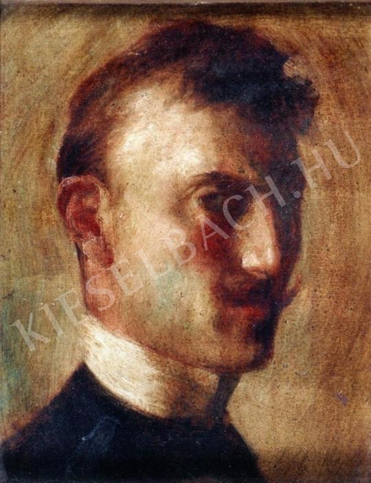 Márk Lajos - Önarckép festménye