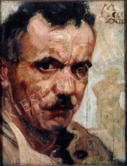 Muhits Sándor - Önarckép