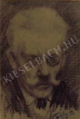 Pállya Celesztin - Önarckép